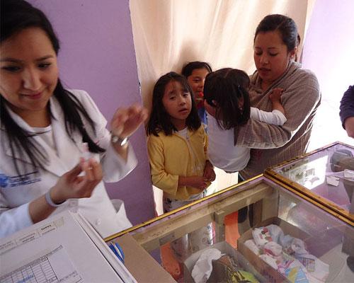 National Immunization Campaign in San Miguel Topilejo